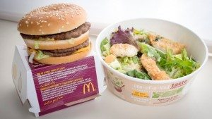 mcdonalds kale salad